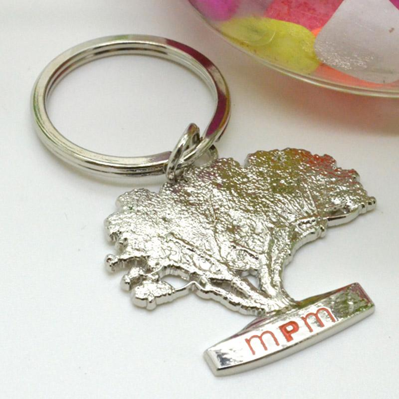 customized silver keyrings