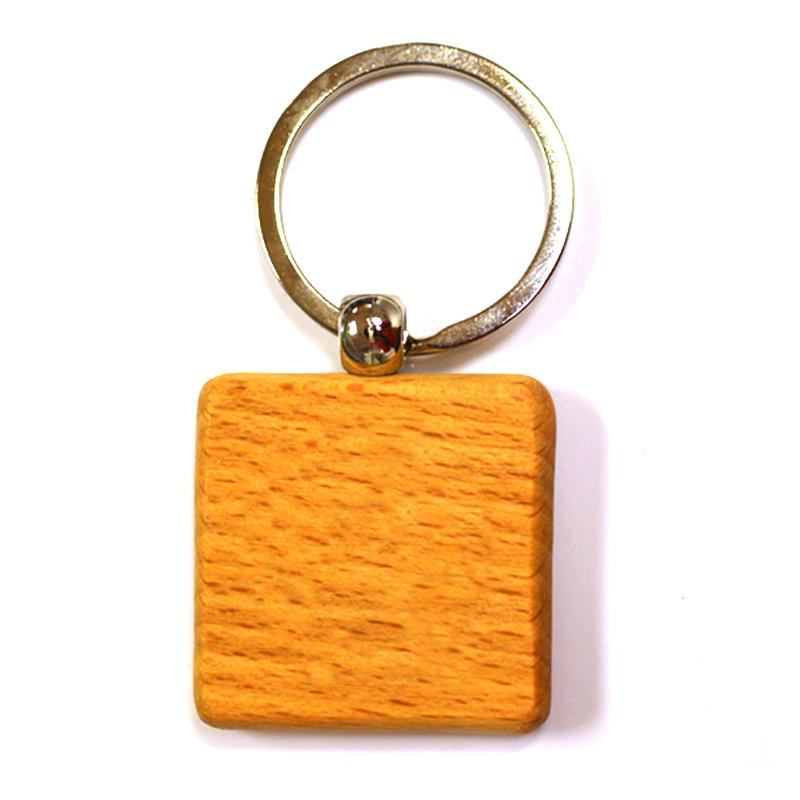 Wooden Key Chain Wood Key Ring Custom