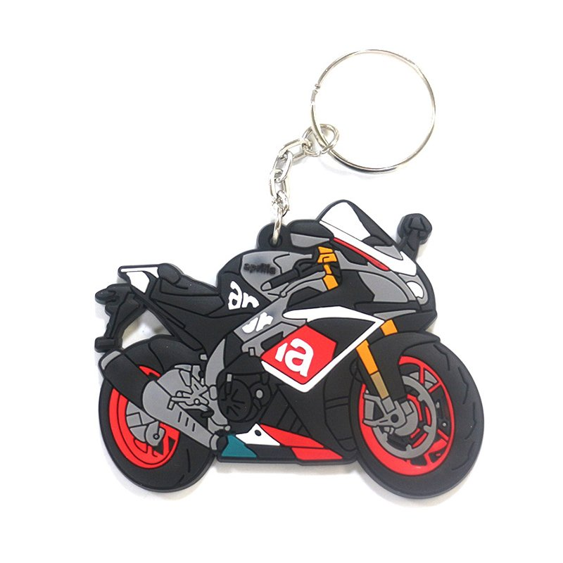 Soft Pvc Keychain Motorcycle Custom