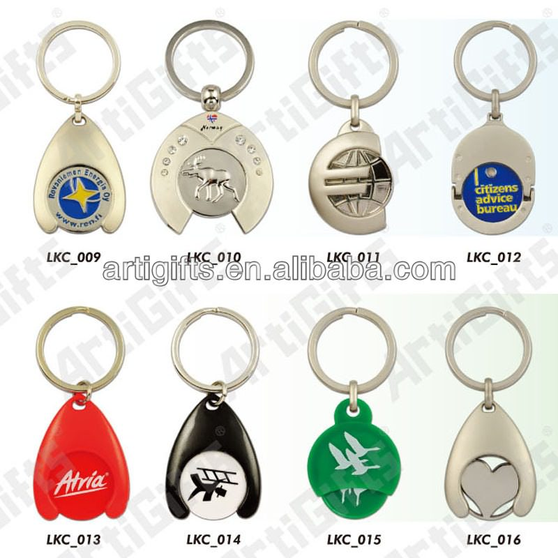 custom coin key chain
