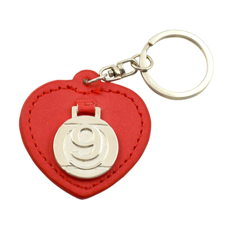 Made in china  leather key chain with logo