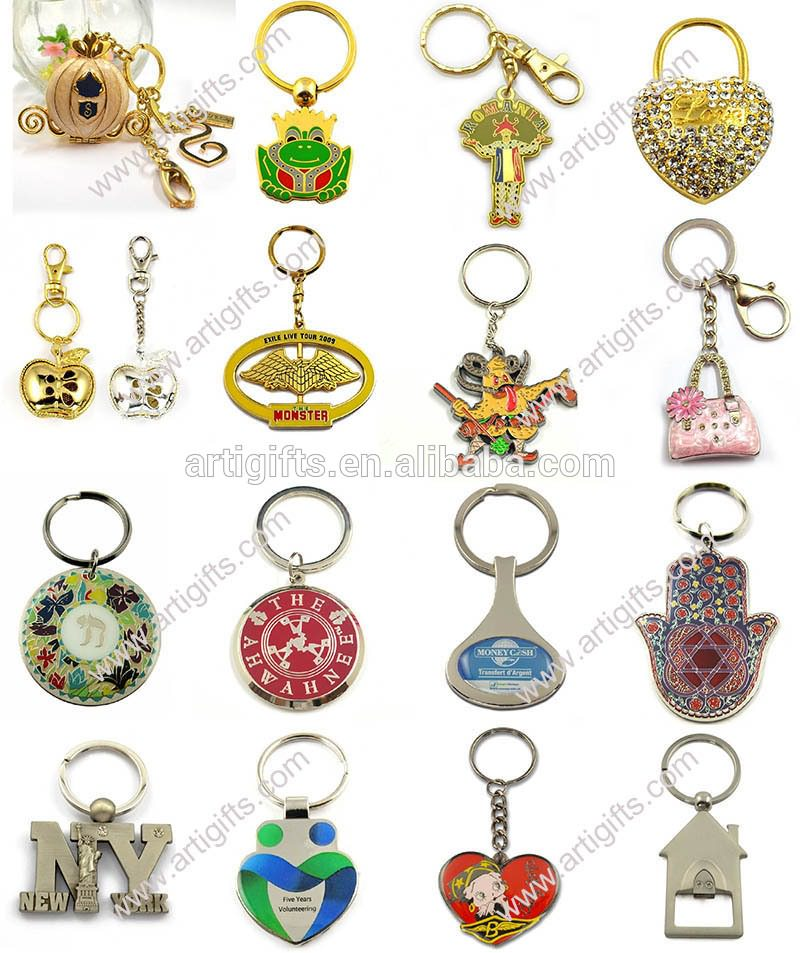 Colorful Keychain with light