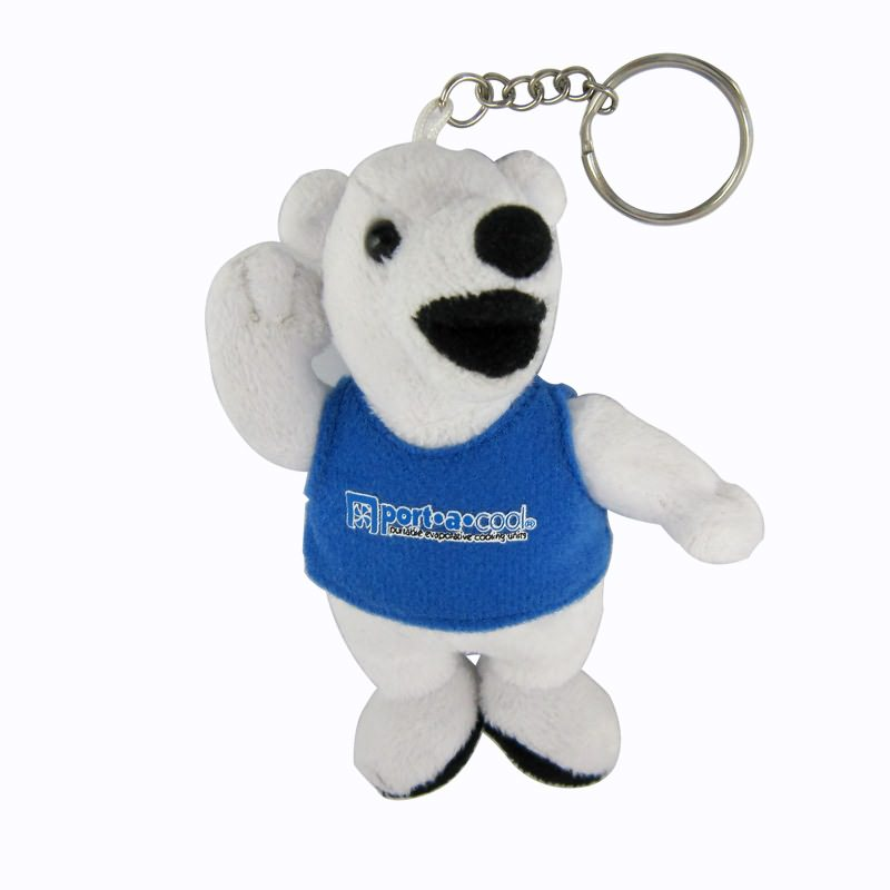 Lovely bear keyring for ornament