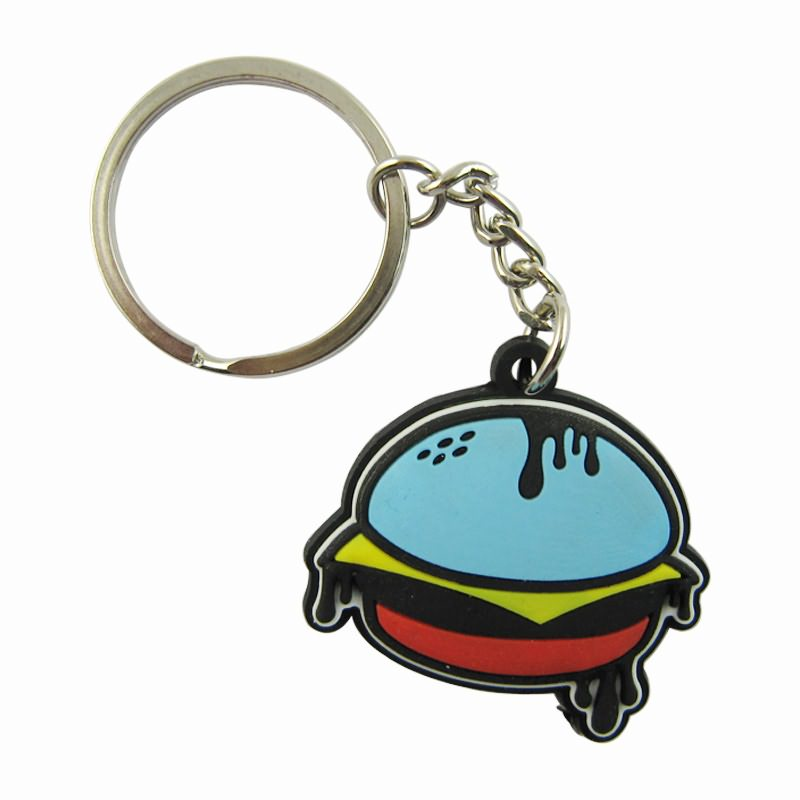 Custom design soft pvc key chain made