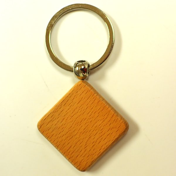 Wholesale  custom wood keyring