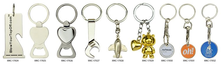 Metal cool keychains