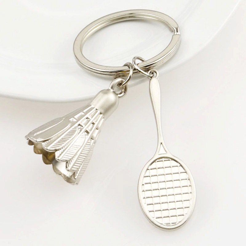 Wholesale promotion metal key ring keyring