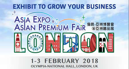Asia Expo & Asian Premium Fair London 2018