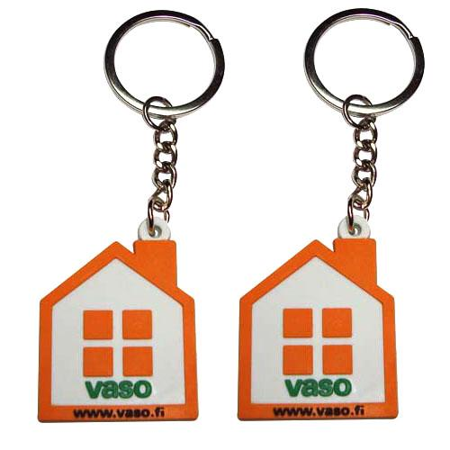 Wholesale cheap 3D soft pvc keychain