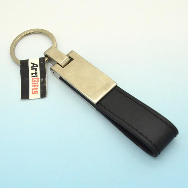 Keychain maker handmade custom leather keyholder
