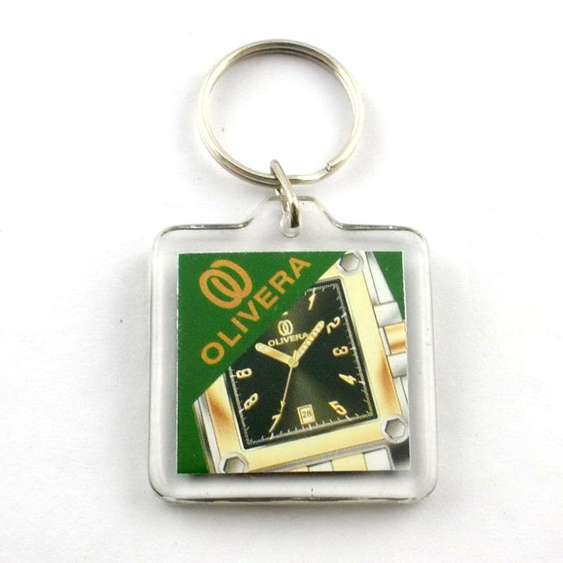 Wholesale custom design acrylic keychain
