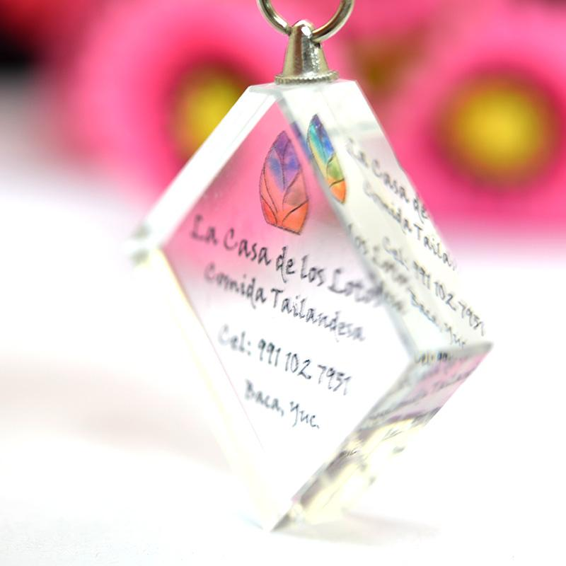 Promotion crystal keychain in key chains