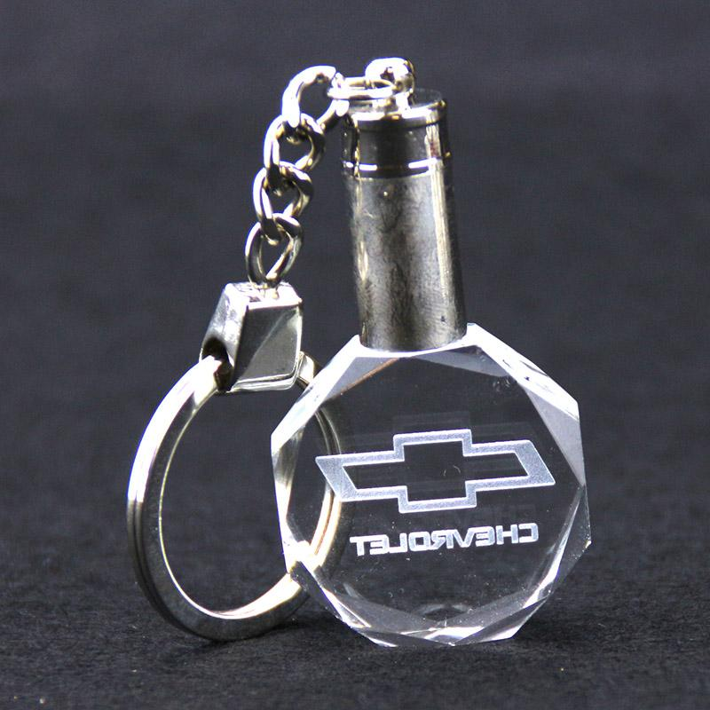 Factory direct sell crystal key chain with custom logo