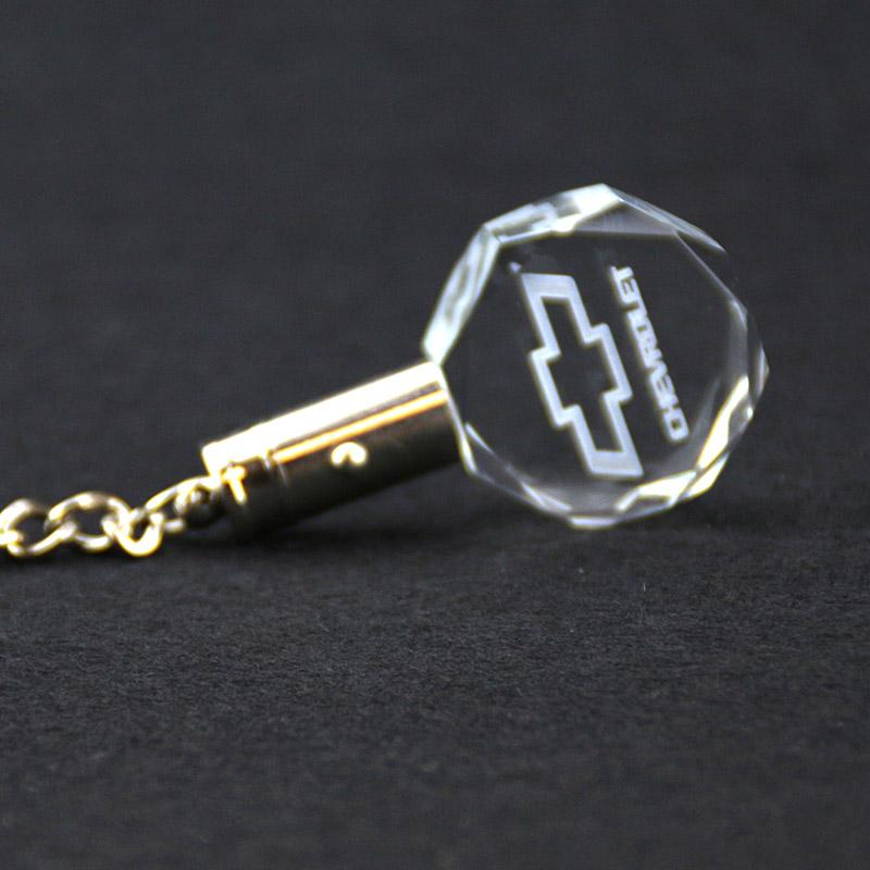 Wholesale clear crystal key chains