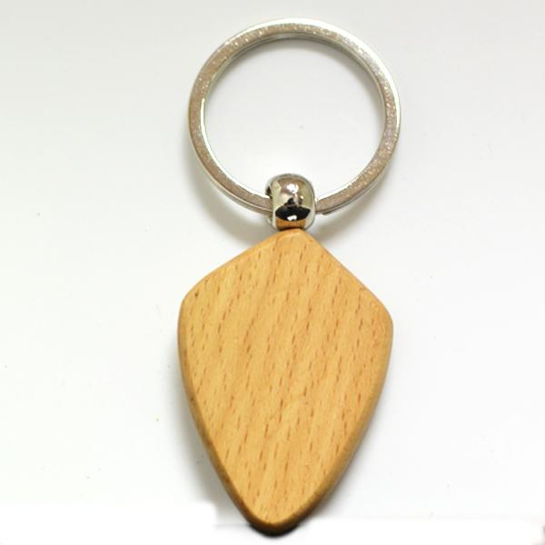 New fashion hot sale wooden key ring