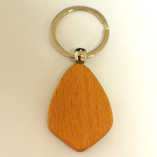 Made in China produce custom wood key chains