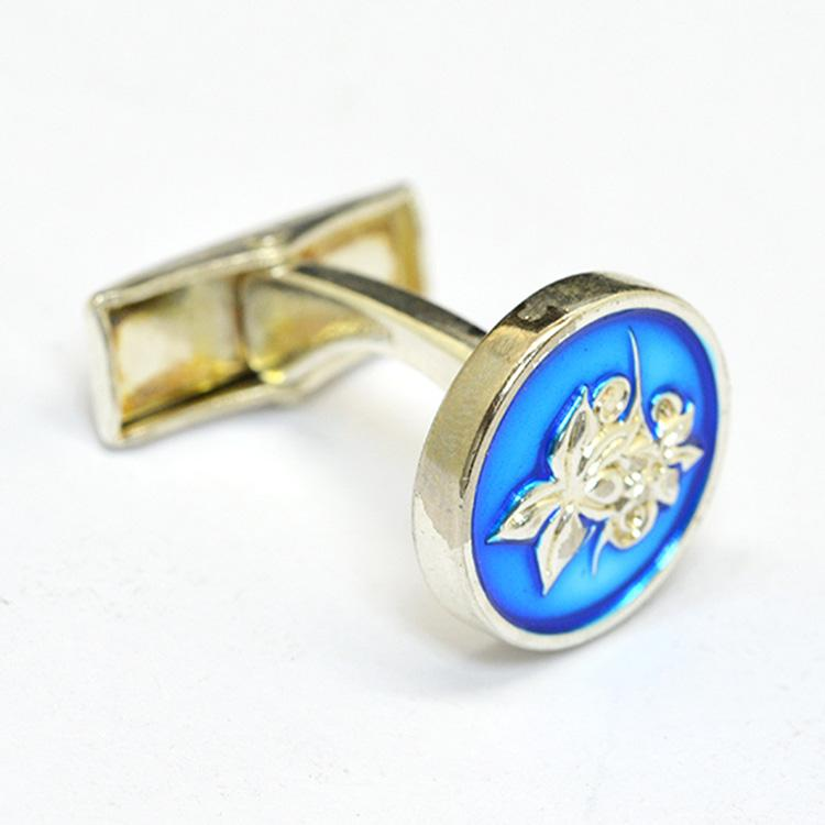 Custom Blank Cheap Silver Cufflink