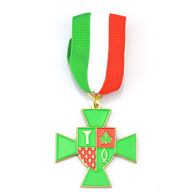 cheap metal medal badge