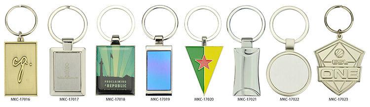 custom double sided keychains