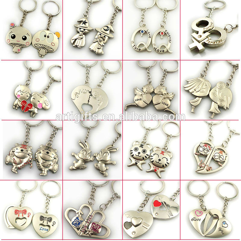 Cheap Personalized Couple Keychains