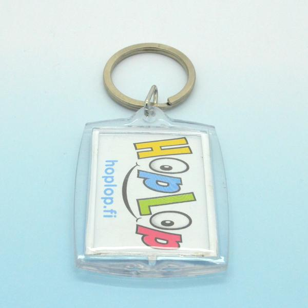 Custom Printed Photo Keychain