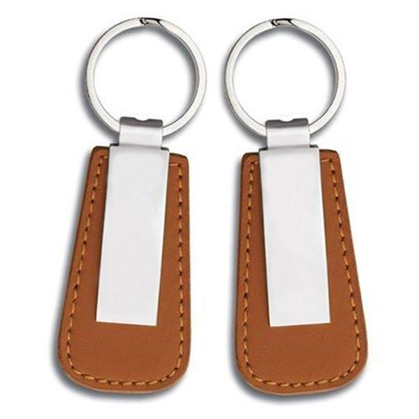 Key Chain Factory Wholesale Cheap Pu Leather Keychain Hook