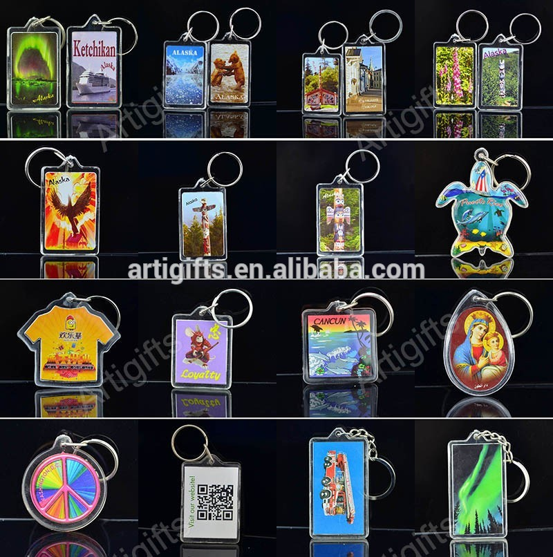 Picture Photo Keychains In Bulk