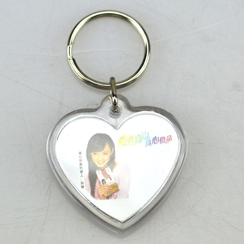 Custom Cheap Personalized Clear Acrylic Keychains Bulk