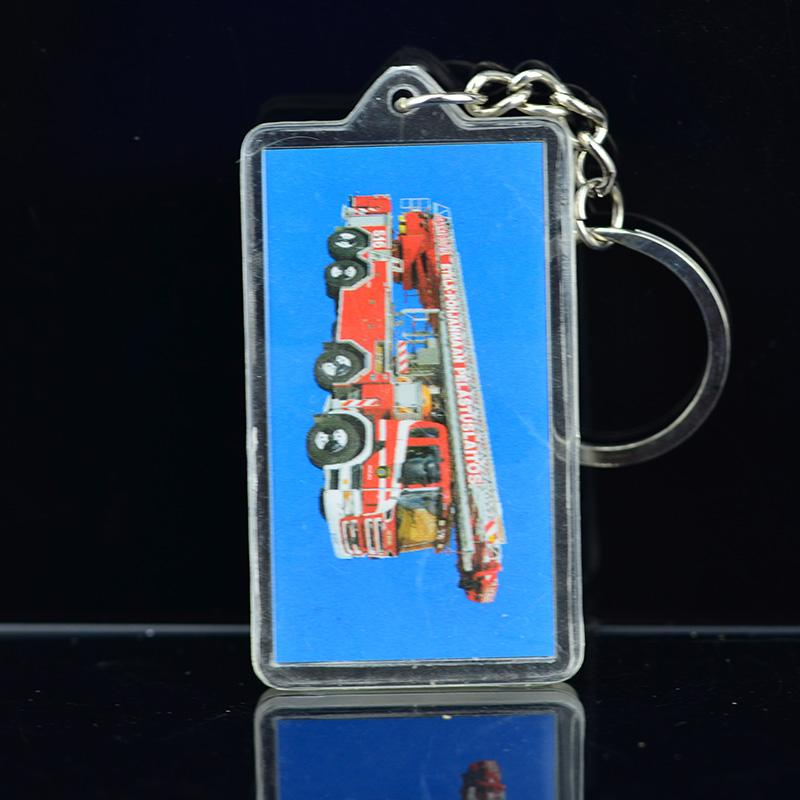 Personalized Clear Acrylic Keychain