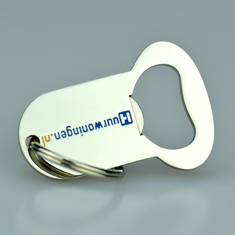 print metal bottle opener keyring