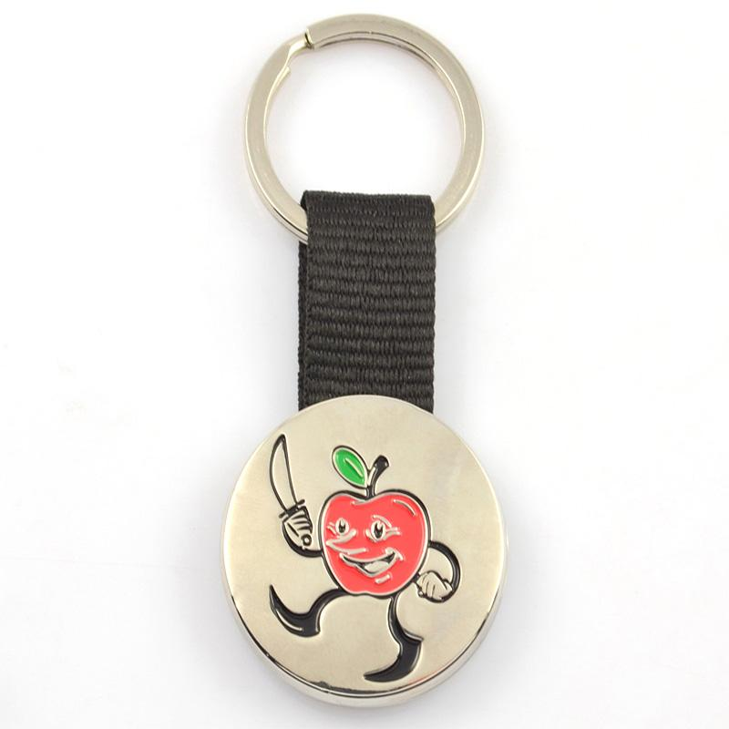 Custom Cheap Metal Abacus Shape Personalised Keychains