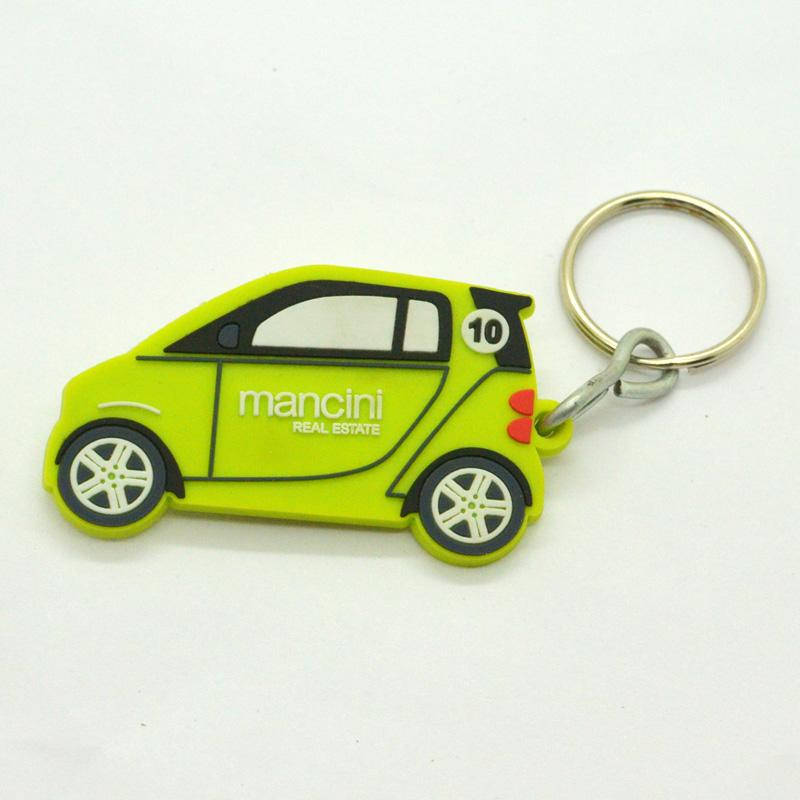 Key Chain Manufacturer Custom Pvc Rubber Jeep Keychain