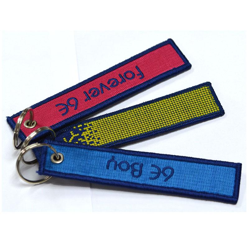No Minimum Custom Logo Cheap Lanyard Key Chain Hook