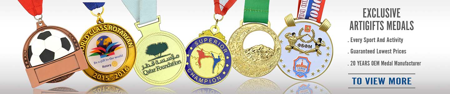 Medal Manufacturer Wholesale Custom Cheap Souvenir Sport Medal