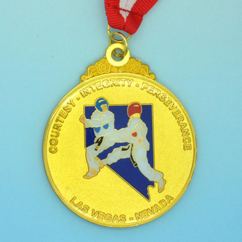 China Medal Maker Supplier Custom Taekwondo Medal Holder