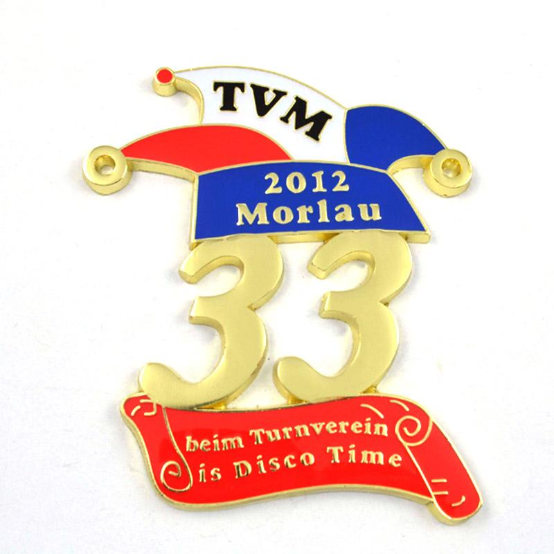 Factory Direct Sale Hot Selling Personalized Fiesta Medal