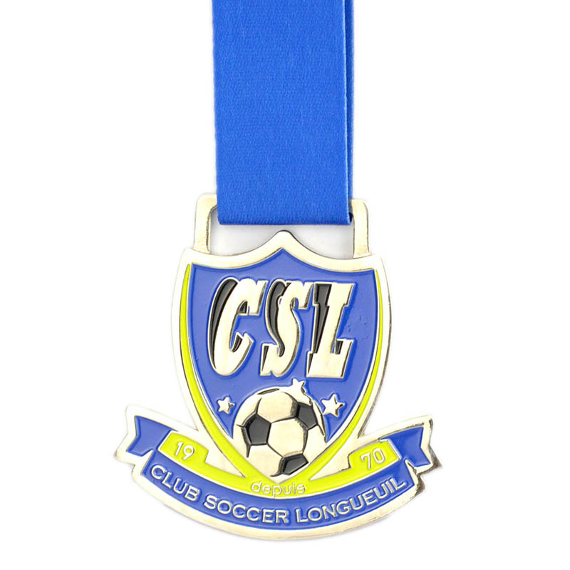 Wholesale Factory Custom Design Cheap Soccer Medal