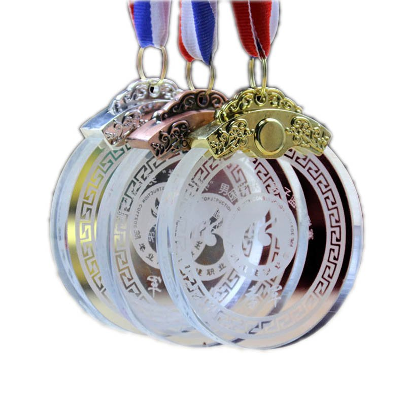 Top Quality Artigifts China Factory Custom Design Glass Medal