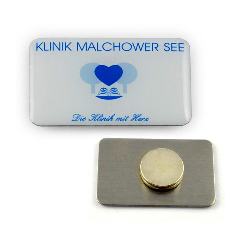 China Pin Maker Screen Printing Customized Logo Magnetic Pin