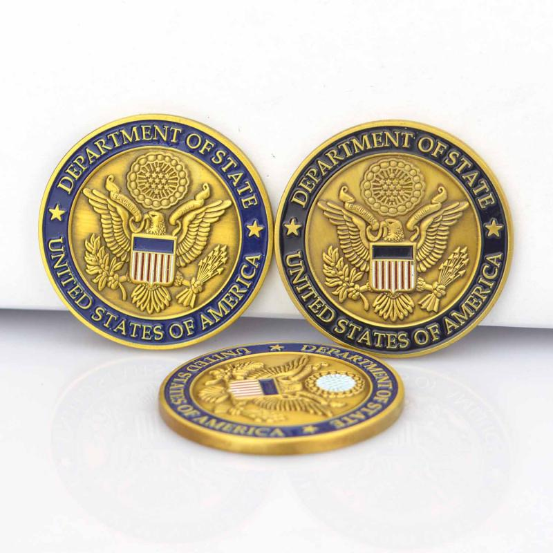 China Artigifts Supplier Wholesale Custom Cheap Chinese Coin