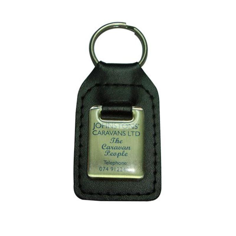 Cheap wholesale bulk fashion leather keyring