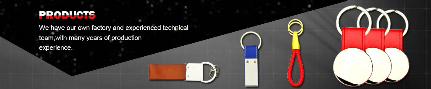 Wholesale Custom Design Leather Car Keychains Tags - Leather Keychain