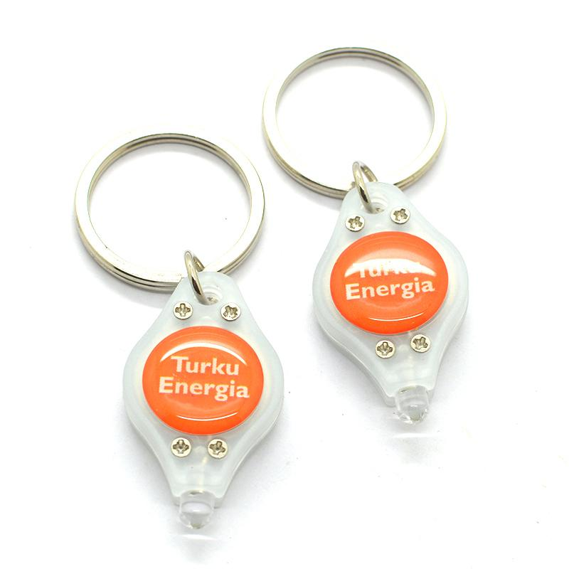 China Artigifts Keychain Supplier Custom Pvc Flashing Led Keyring