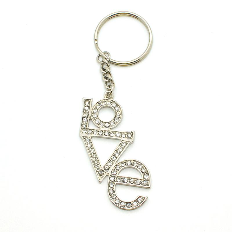 Custom Bulk Metal Jewelry Monogram Key Chains Wholesale