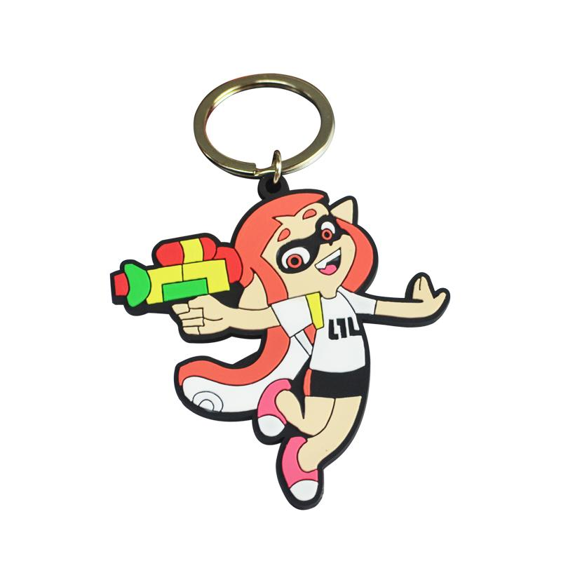 China Artigifts Custom Bulk Soft Pvc Anime Keychain Wholesale