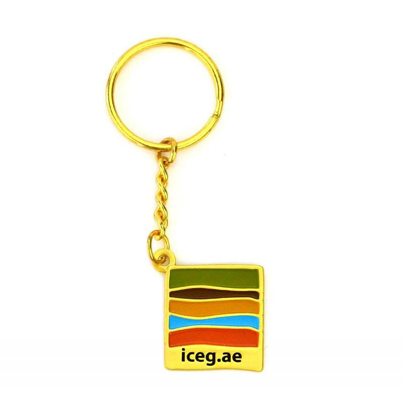 Keyring Maker Custom Double Side Logo Metal Sublimation Key Chain