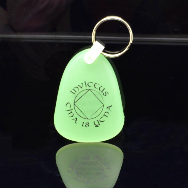 Wholesale Keychains Custom Bulk Pvc Glow In The Dark Keychain