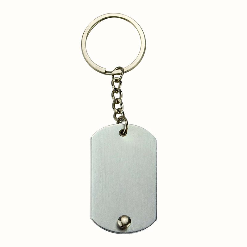 Customize Your Own Keychains Wholesale Blank Name Tag Key Chain