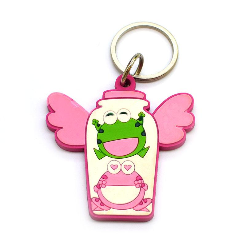 Key Chains Factory Promotional Gifts Cheap Pvc Keychain Online