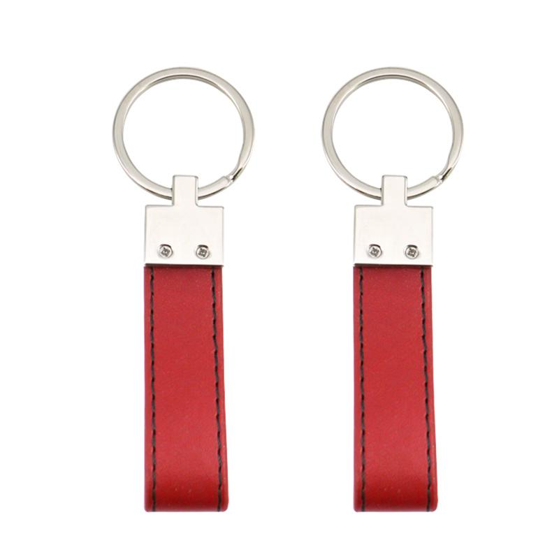 Artigifts Keychains Factory Custom Leather Key Ring Design